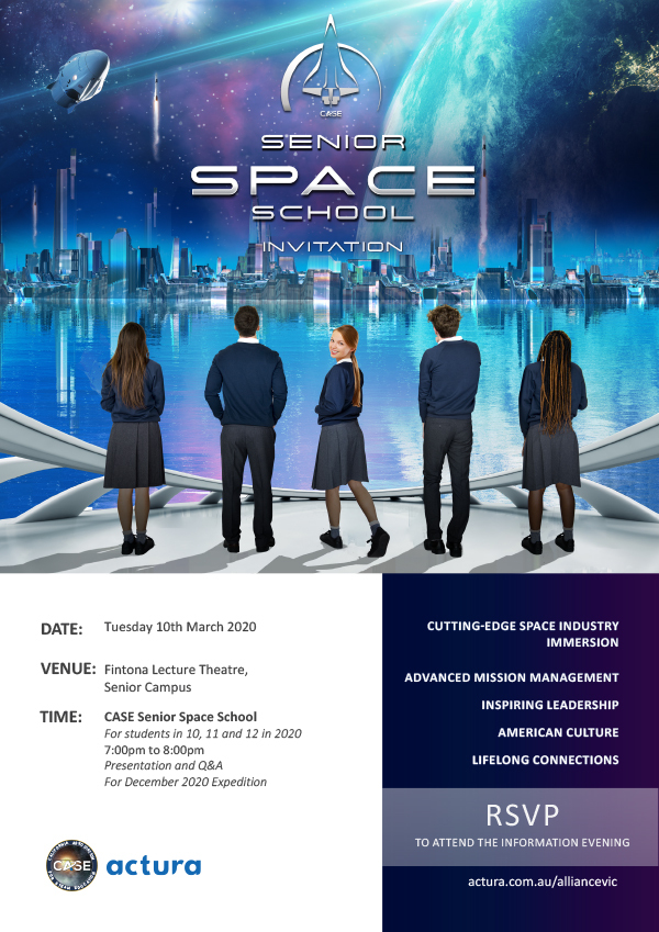 Space School Information Evening RSVP